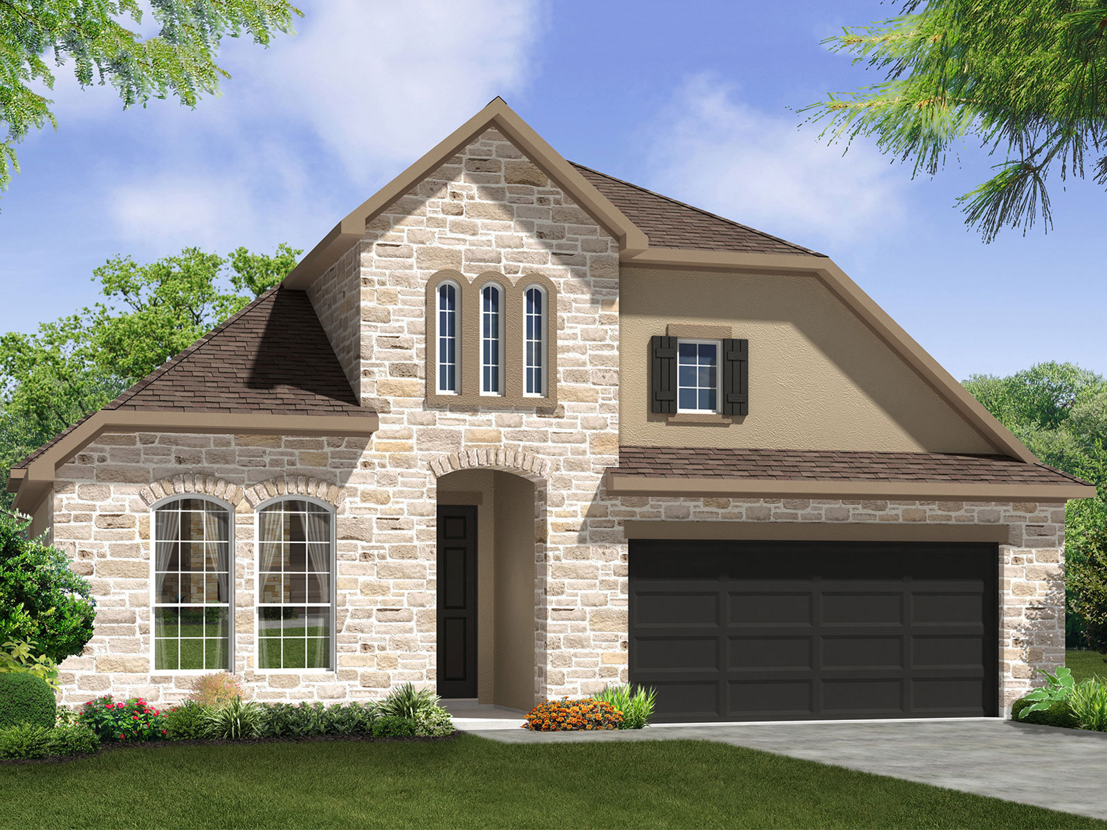 The Elderberry Model 3br 2ba Homes For Sale In Bee Cave
