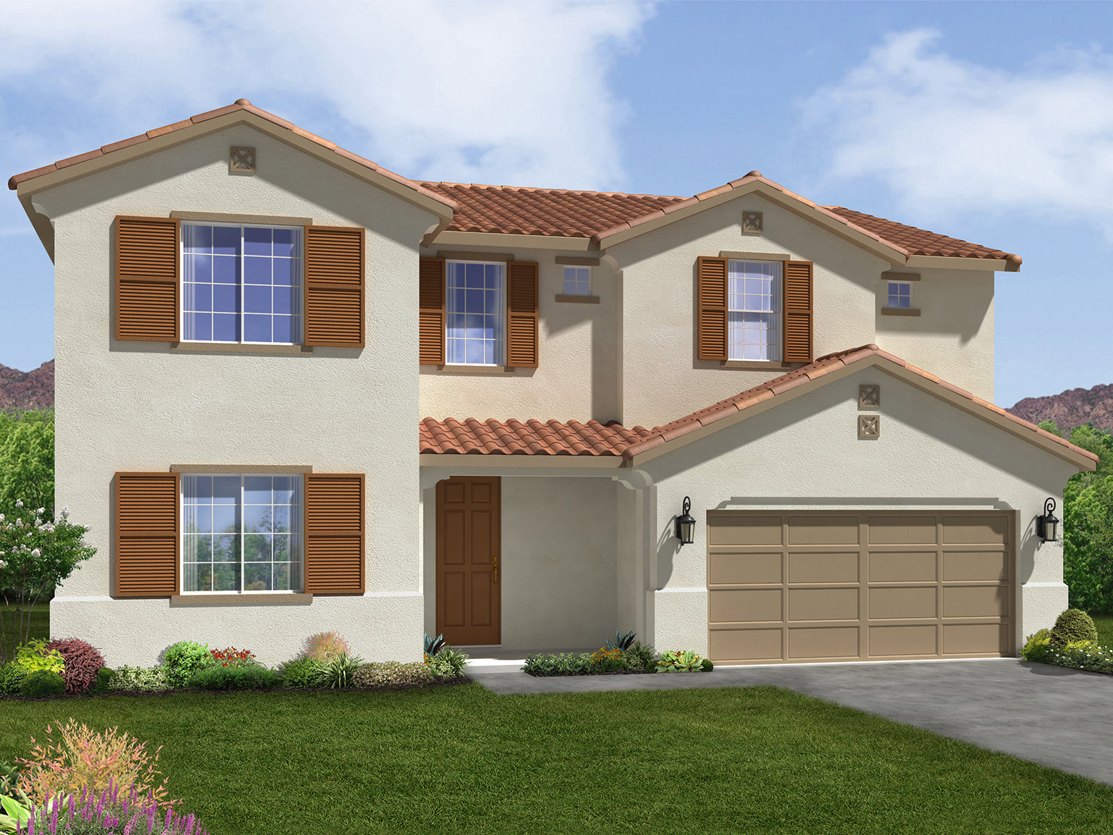 The valencia model 4br 4ba homes for sale in bakersfield for Custom home builders bakersfield ca