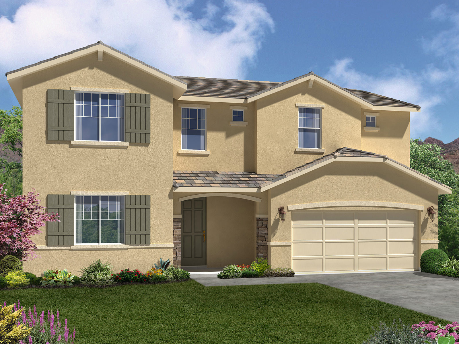 The Valencia Model 4br 4ba Homes For Sale In Bakersfield