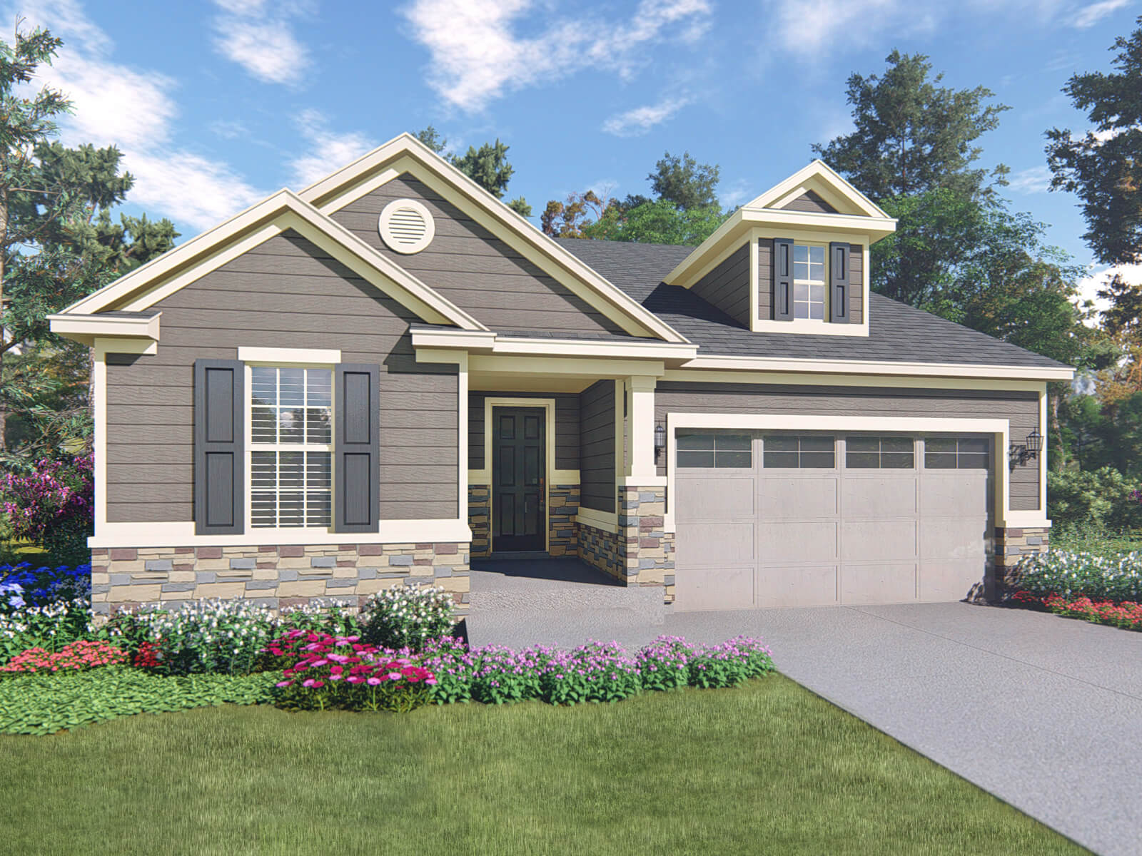 The timberline model 3br 2ba homes for sale in parker co 13elevation b malvernweather Gallery