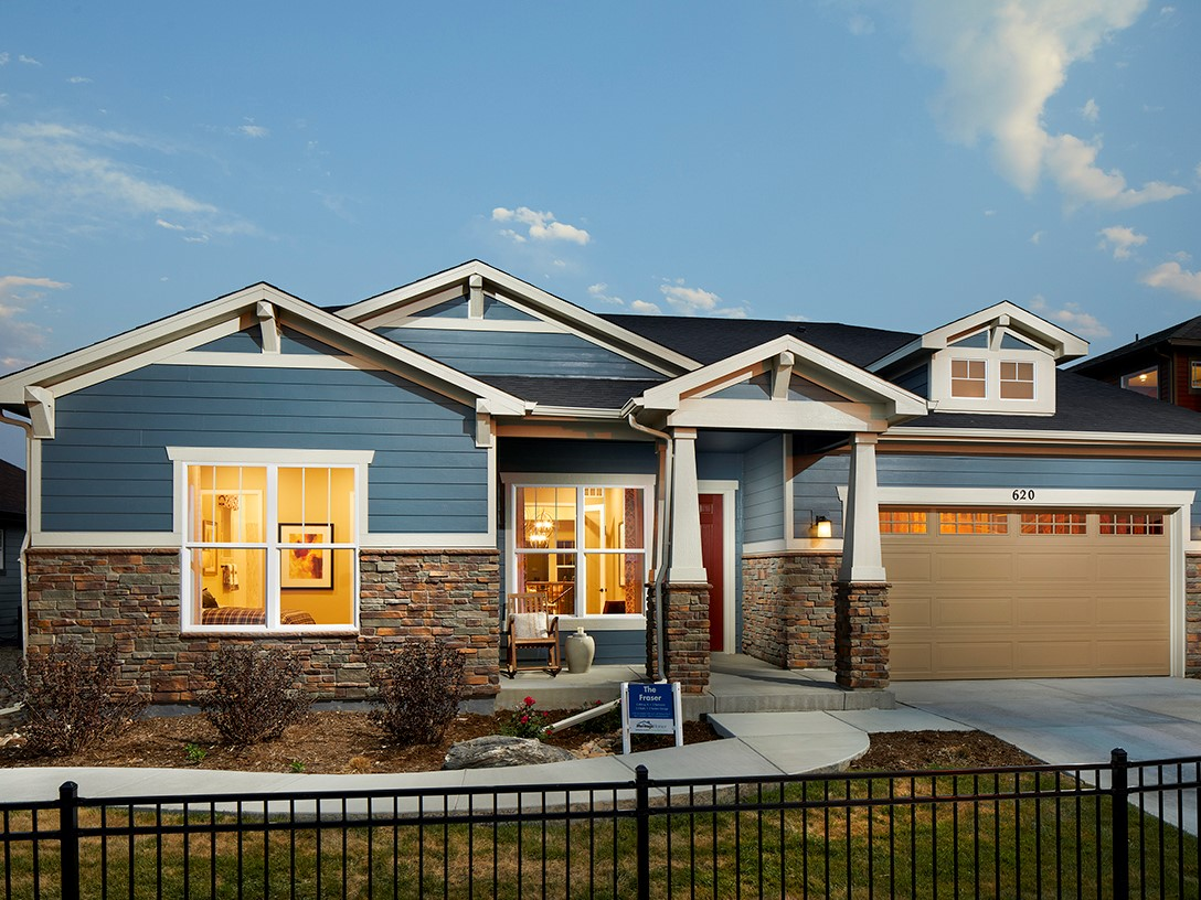 Trails at Coal Creek The Alpine Collection by Meritage Homes
