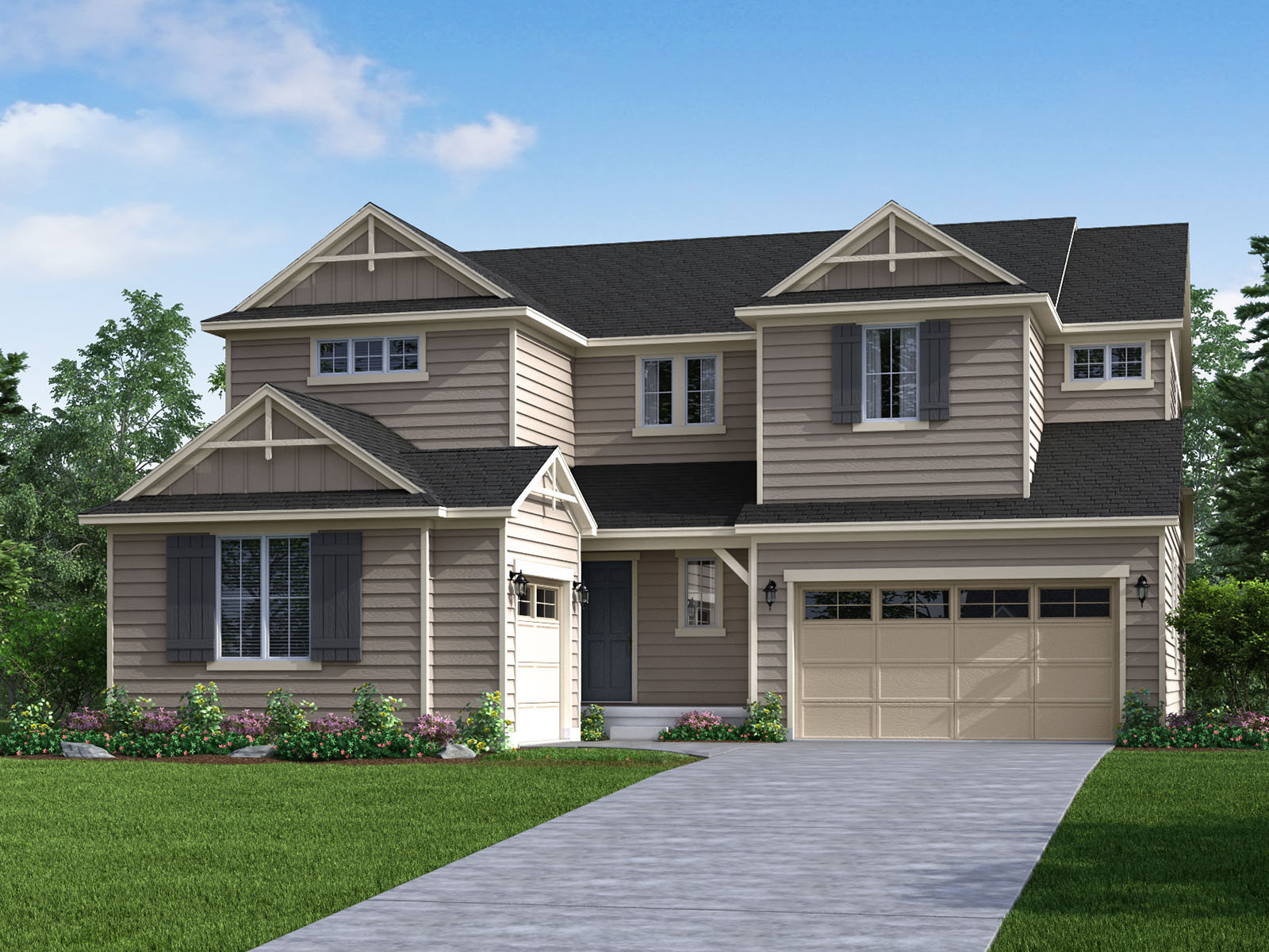 The Trail Ridge Model 4br 4ba Homes For Sale In