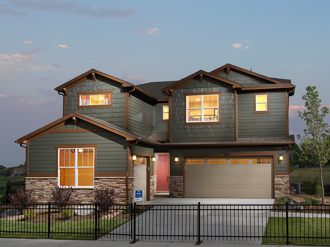 New Homes In Lafayette Co Meritage Homes