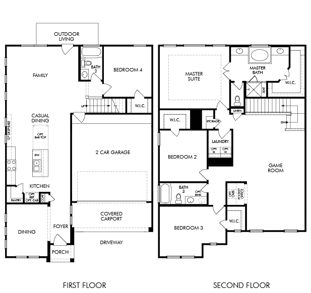 The Sanctuary 2518 Model 4br 3ba Homes For Sale In