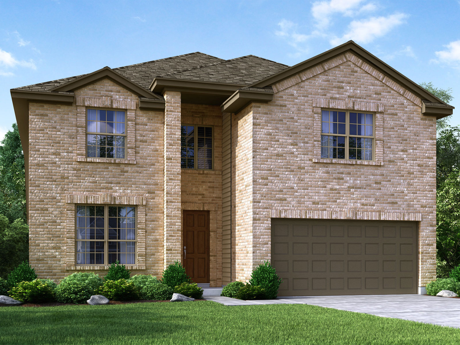 The Trinidad 4L85 Model – 4BR 4BA Homes for Sale in Cypress TX