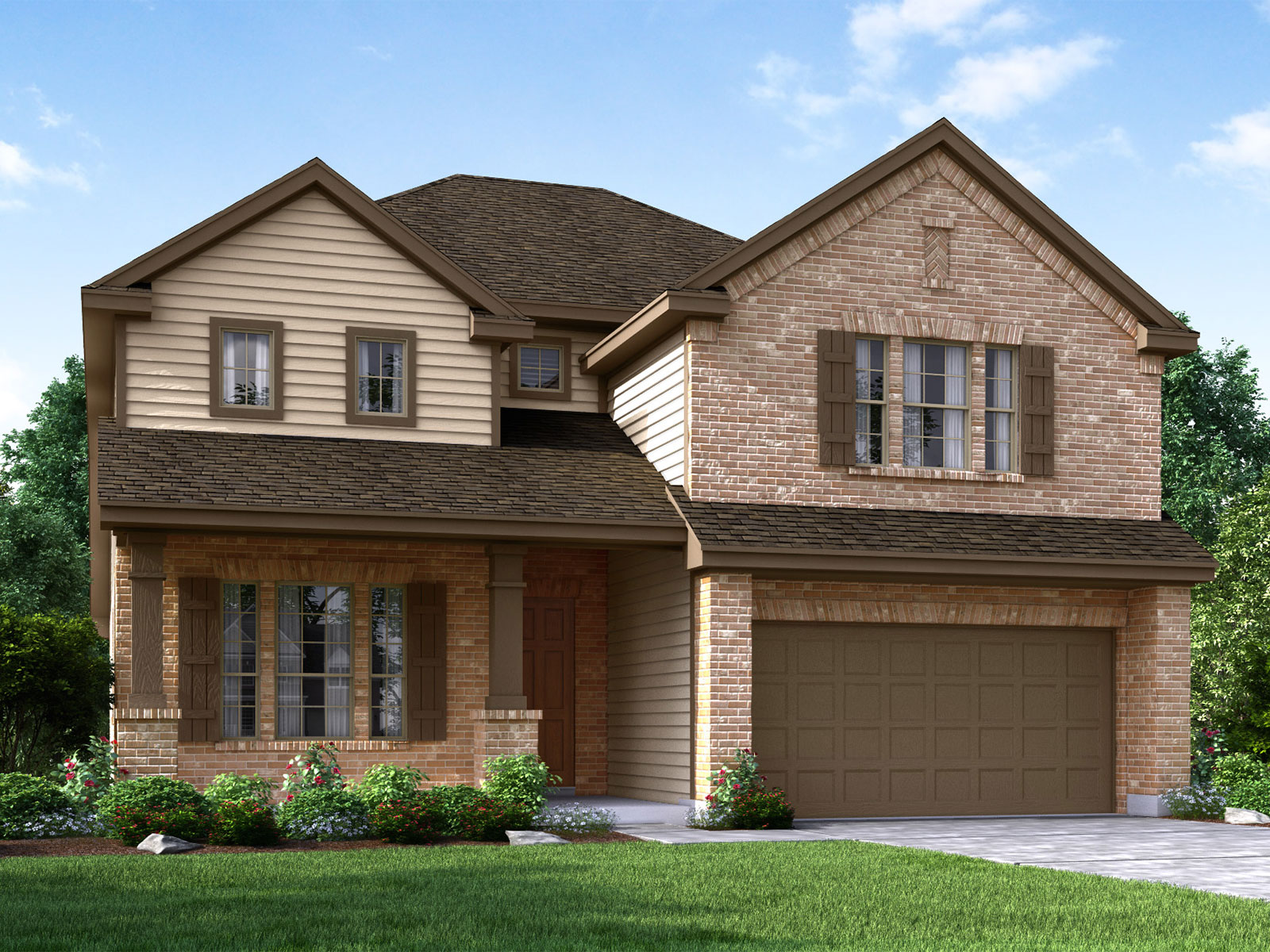 The Savannah 4K85 Model – 4BR 3BA Homes for Sale in Pearland TX