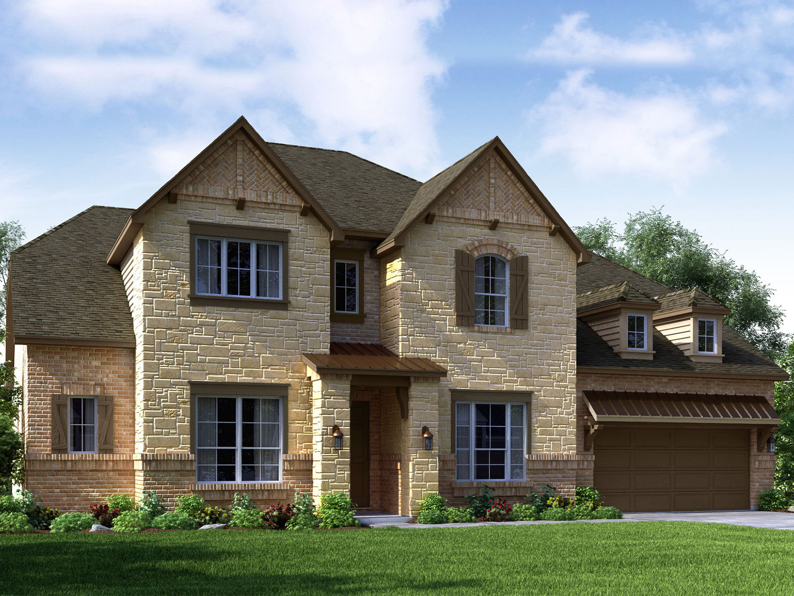 The Rome 6007 Model 4br 4ba Homes For Sale In Houston