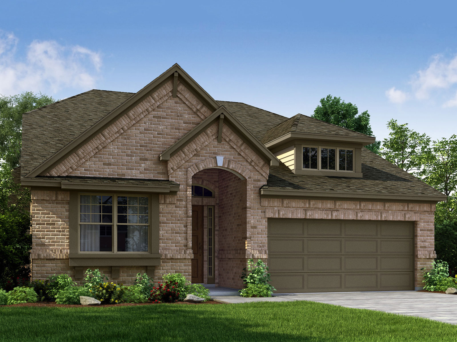 The sequoia 4023 model 3br 2ba homes for sale in for Houston house elevation