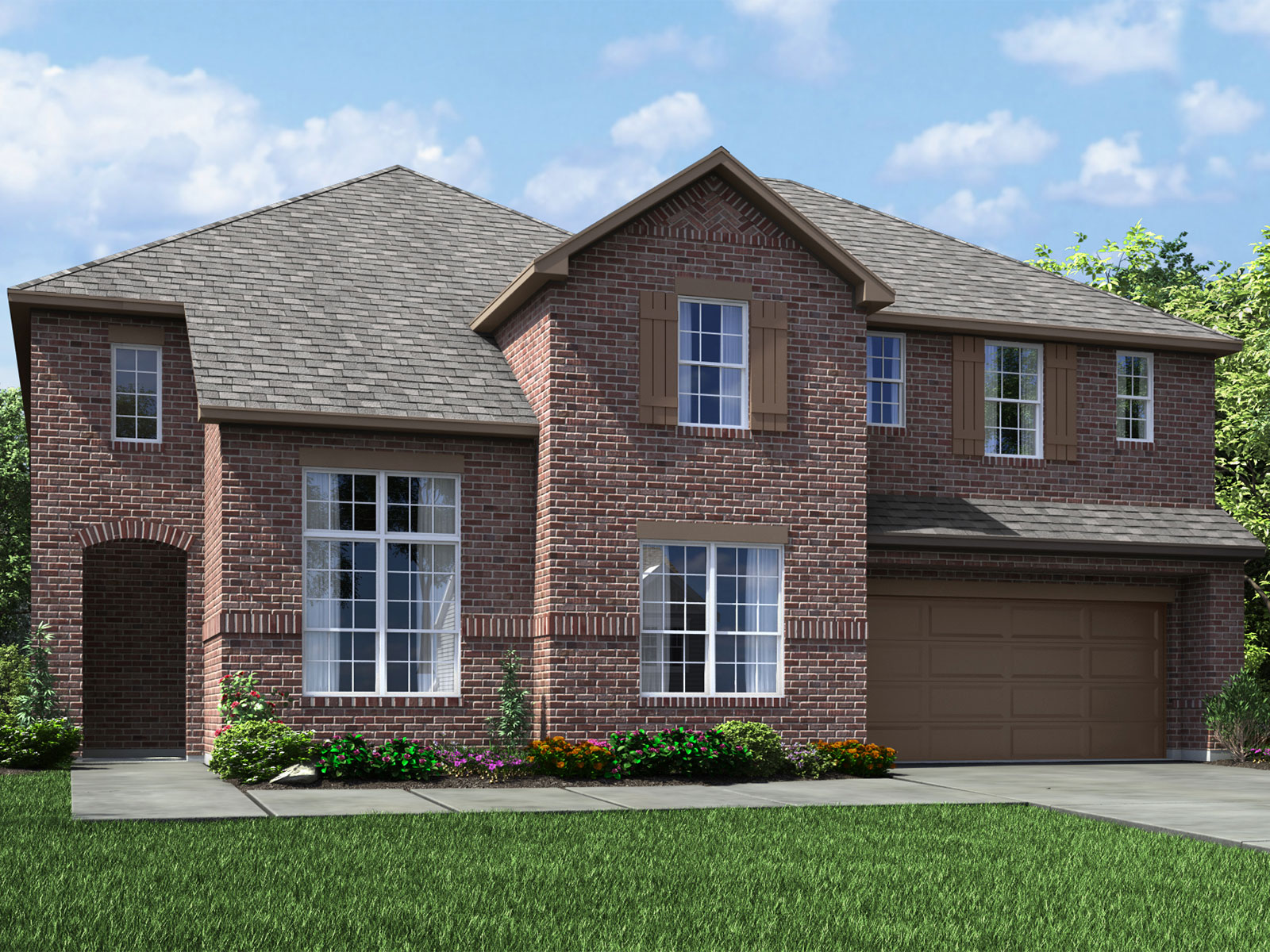 The Huntley (5012) Model – 4BR 4BA Homes for Sale in Houston, TX