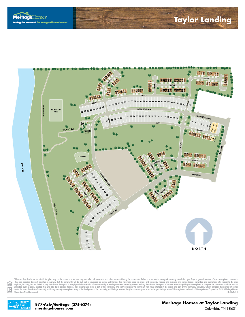 Taylor Lansing site map
