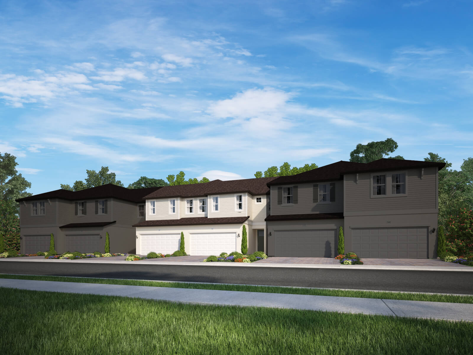 Meadow woods 6 plex town homes