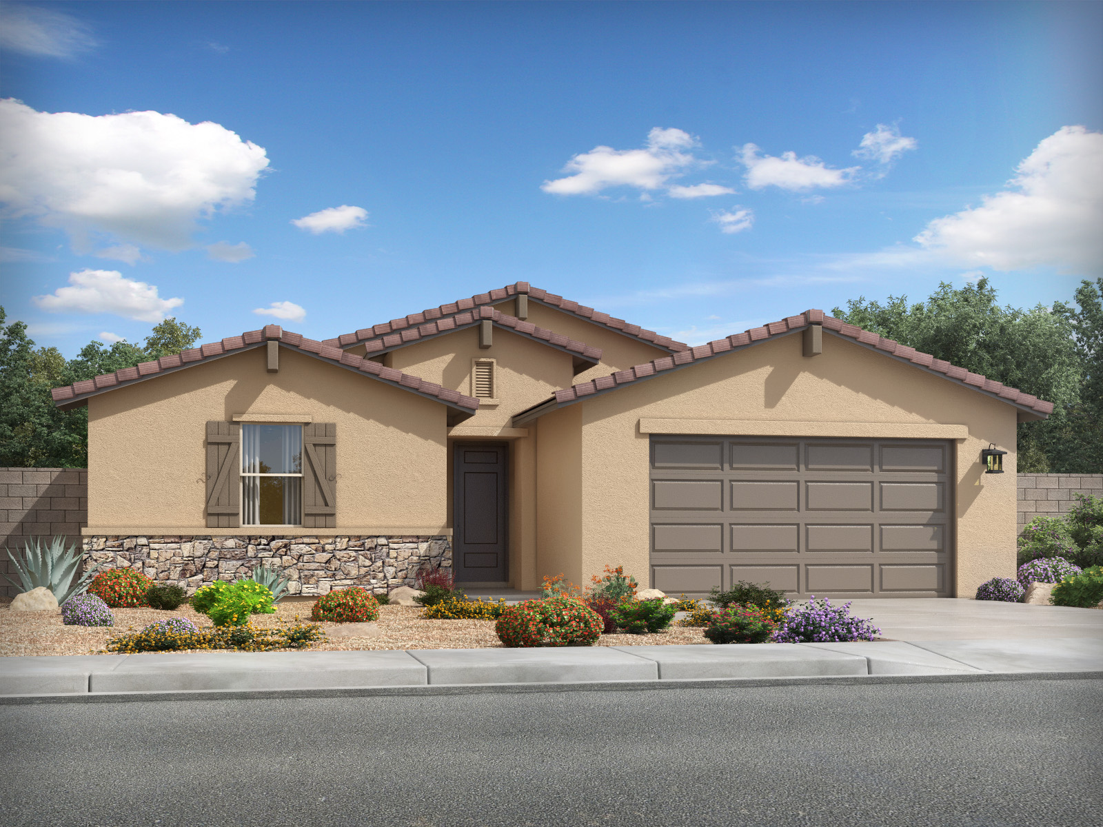 Bailey Plus Model 5br 3ba Homes For Sale In San Tan Valley Az Meritage Homes