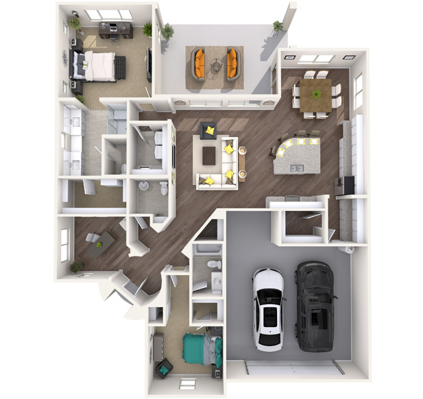 Franklin 3D Floorplan