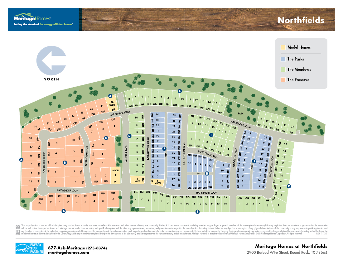 Northfields Community Map
