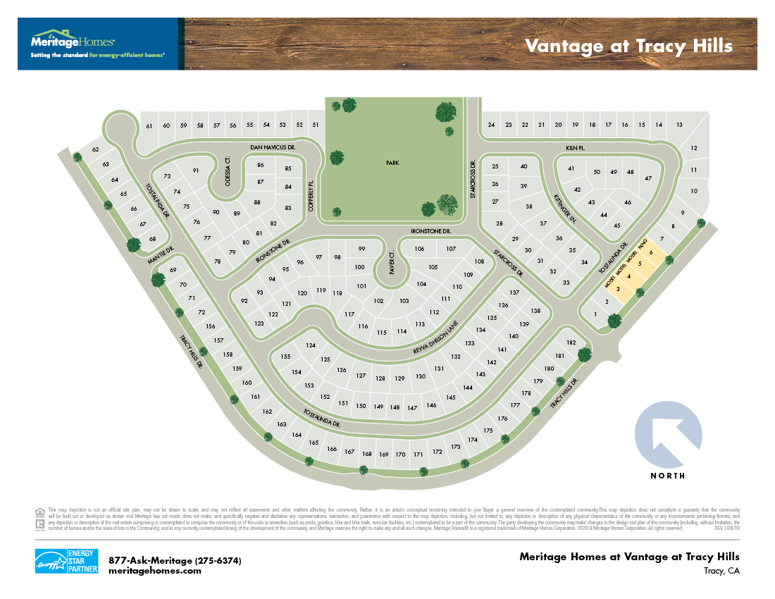 New Homes In Tracy Ca Meritage Homes