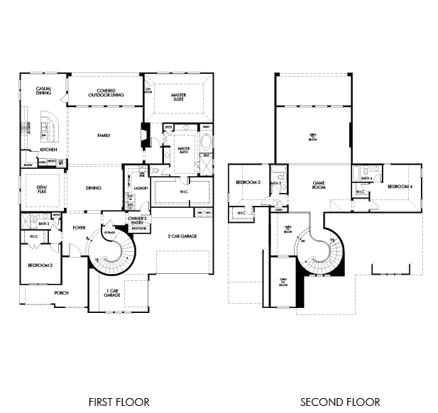 The prague 6009 model 4br 4ba homes for sale in sugar for Interactive home floor plans