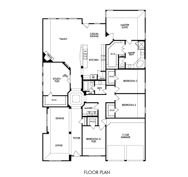 Flooring Systems Houston: 4BR 2BA Homes For Sale In Cypress
