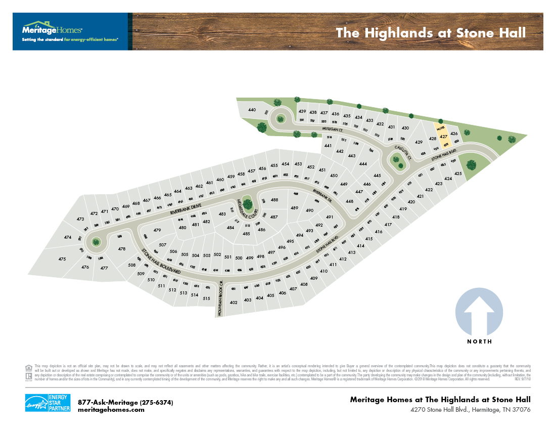 Highlands site map 7919