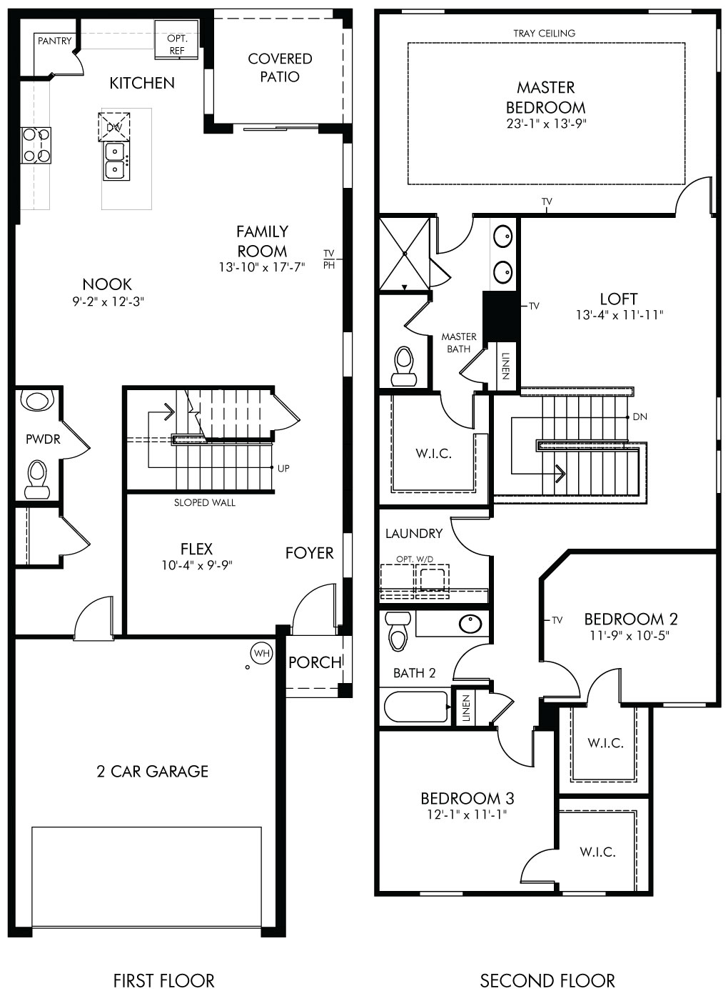 Delano Floorplan