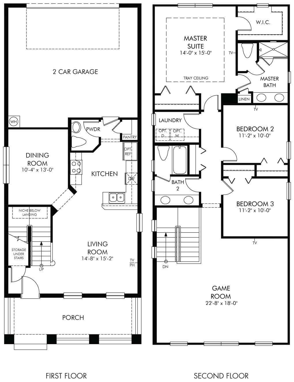 Whitman Floorplan