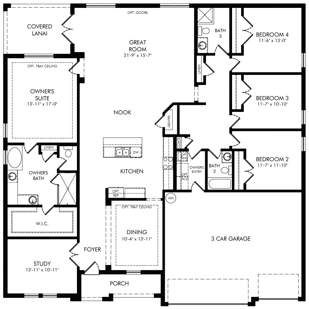 Shore Floorplan