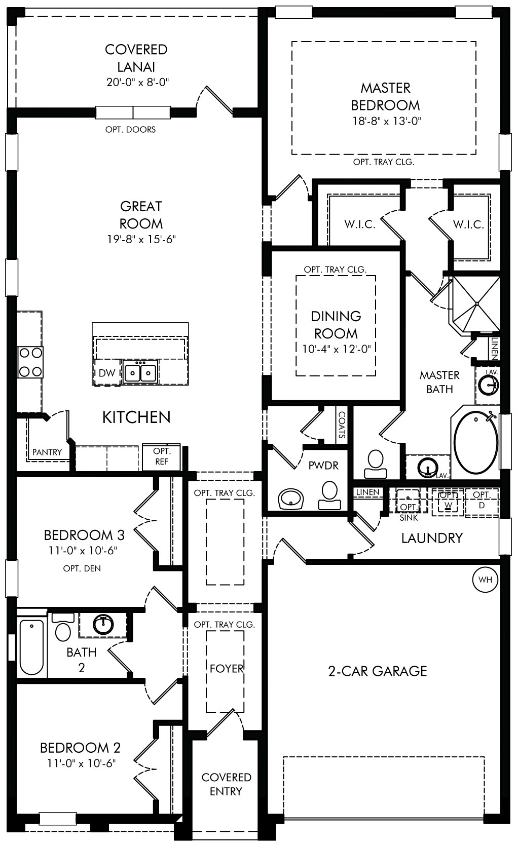 Bailey 2000 floor plan