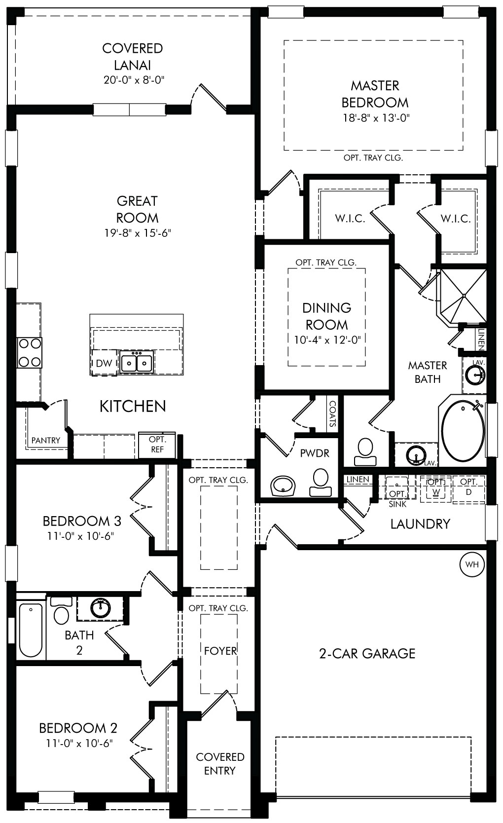 Bailey Floorplan