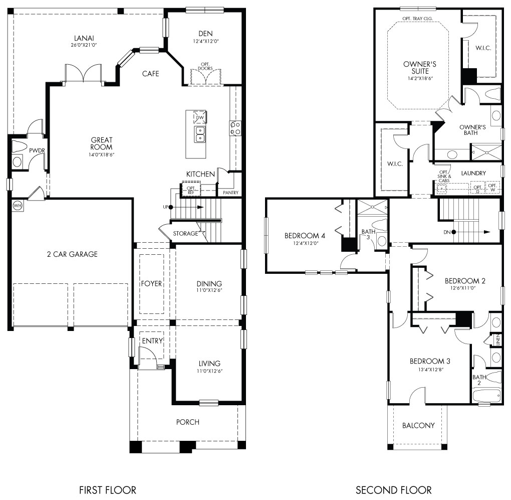 thoreau floorplan