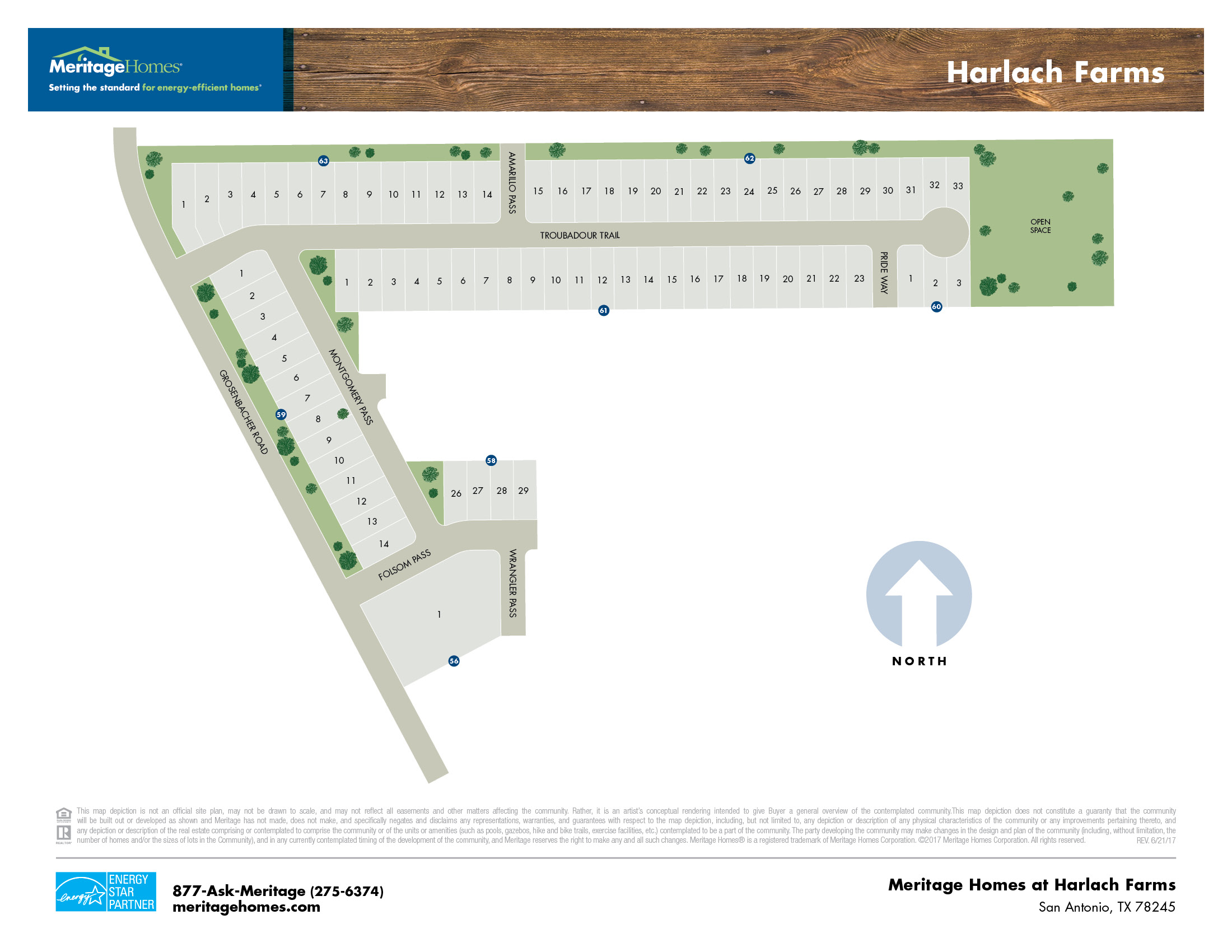 Harlach Farms Site Map