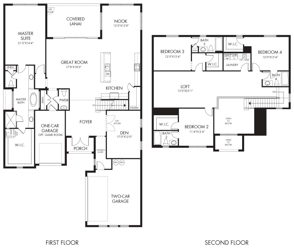 Martinique Floorplan