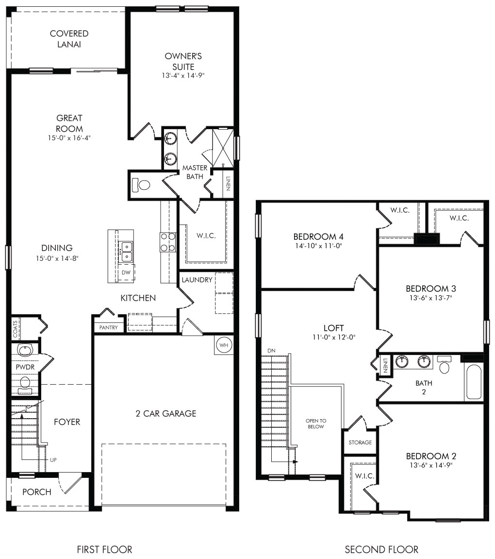 Poplar Floorplan