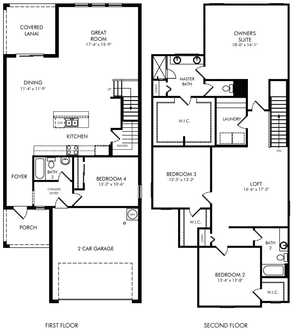 Sequoia Floorplan