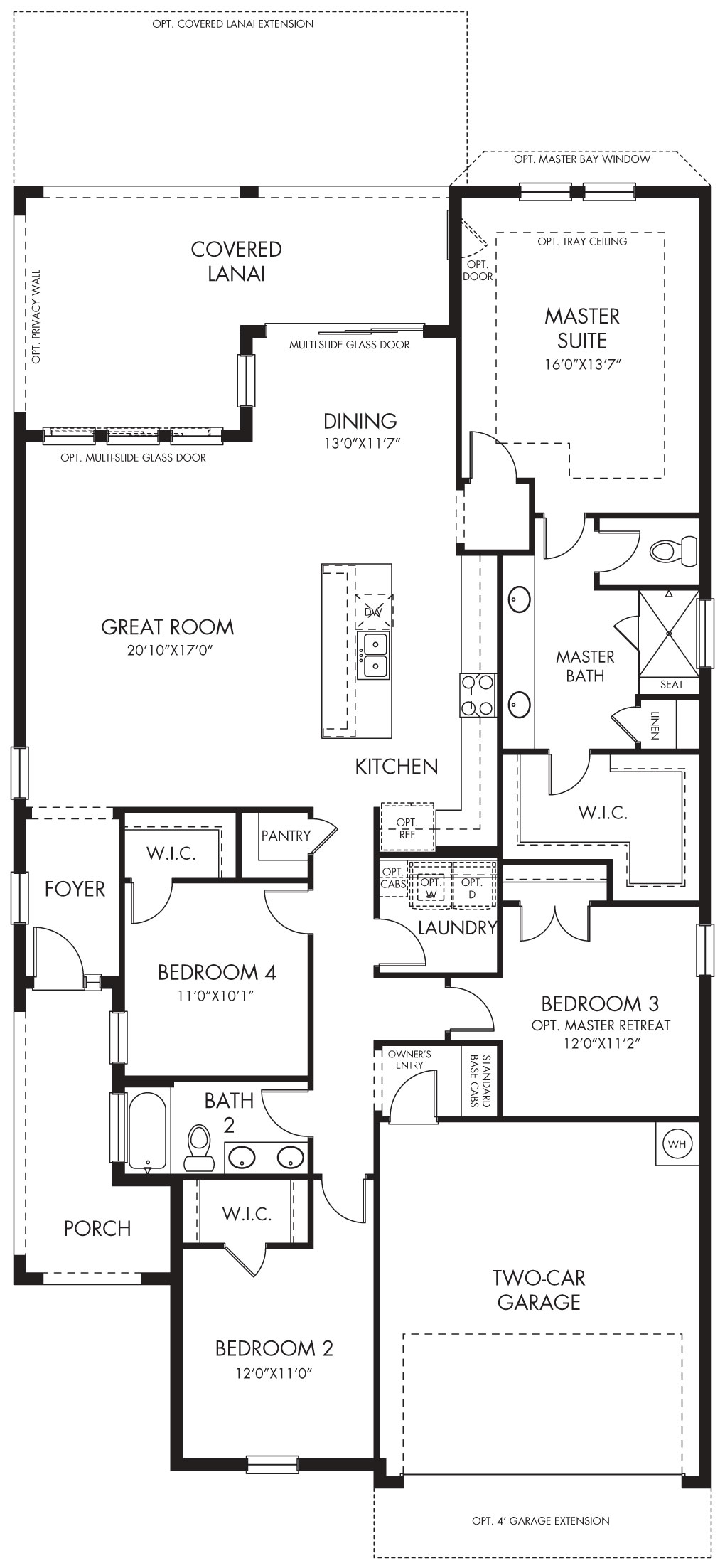 Areca floorplan