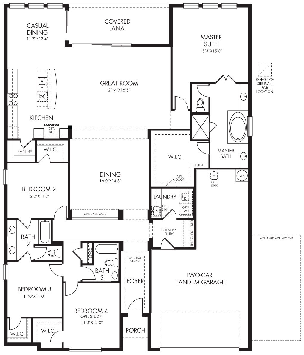 Brookside II  floorplan