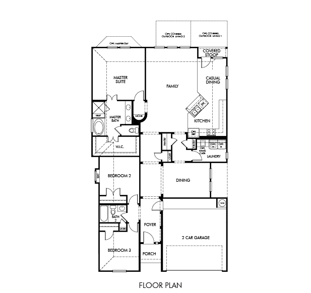 The Mulberry 4001 Model 3br 2ba Homes For Sale In San