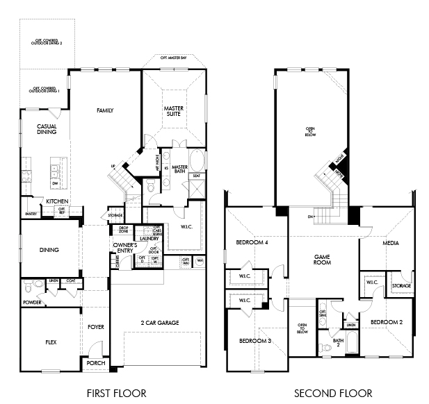 The Spanish Oak 4014 Model 4br 3ba Homes For Sale In