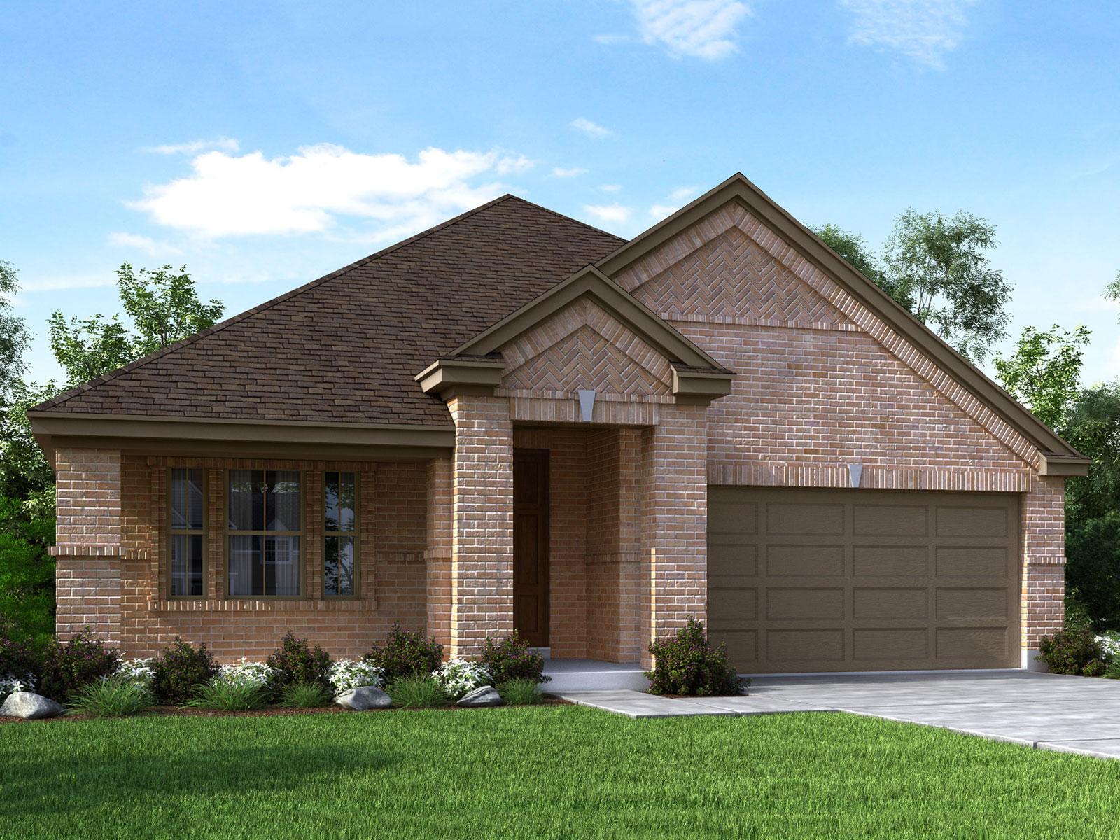 Elevation c contact us for Houston house elevation