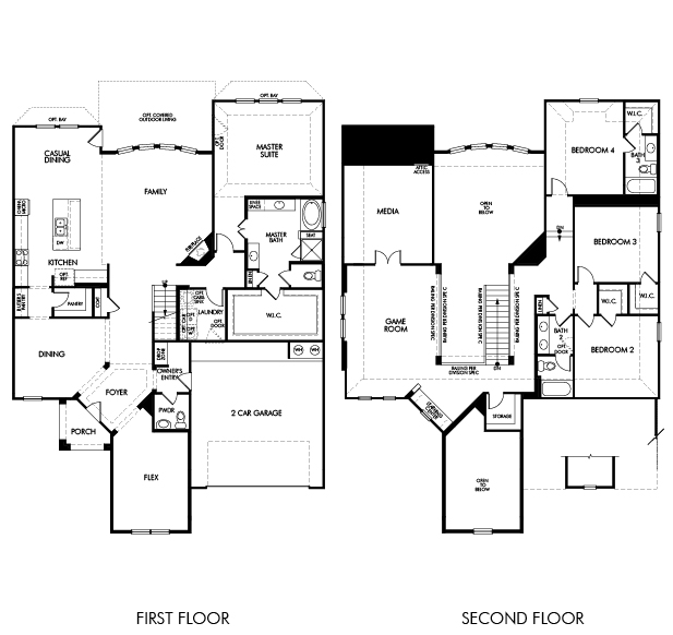 7215 lake view terrace drive for Interactive home floor plans