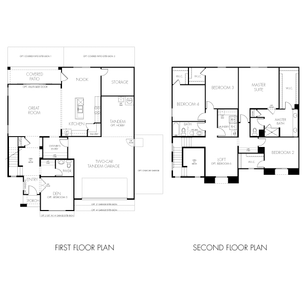 Tucson Floorplan