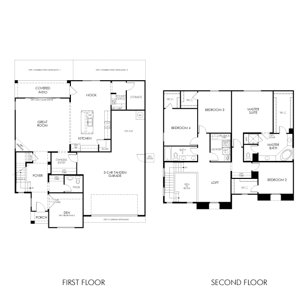Saguaro Floorplan
