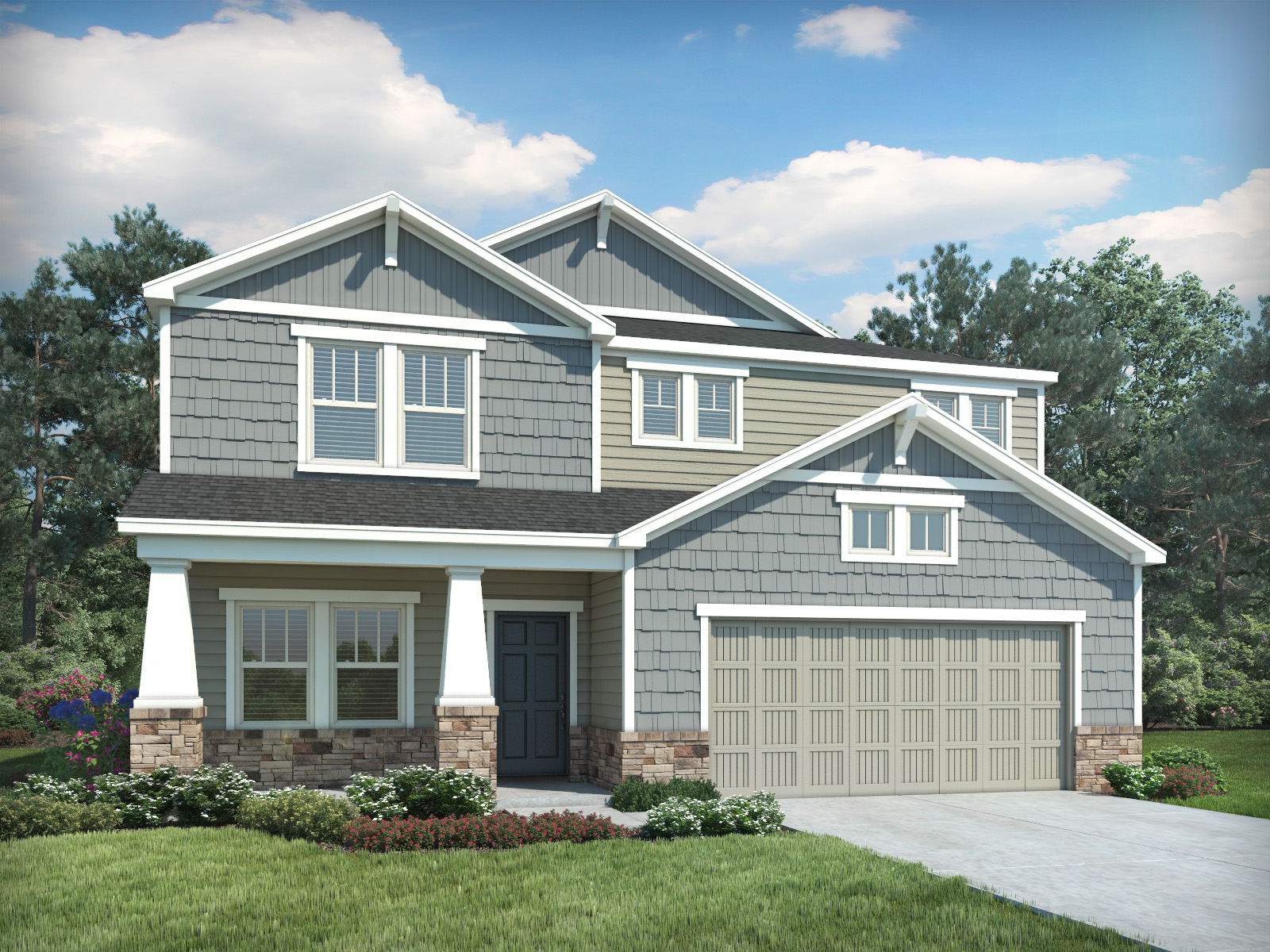 Hawthorne Ridge By Meritage Homes New Homes For Sale In