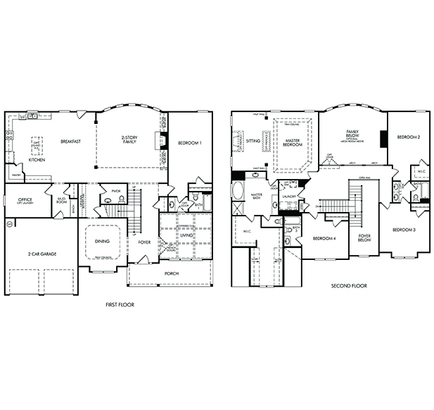 Cameron model 5br 5ba homes for sale in simpsonville sc for 5br house plans