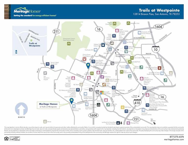 Trails At Westpointe By Meritage Homes New Homes For