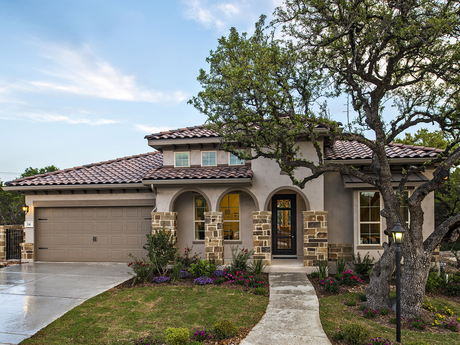 Take in the natural beauty of the hill country from your new Monterey home