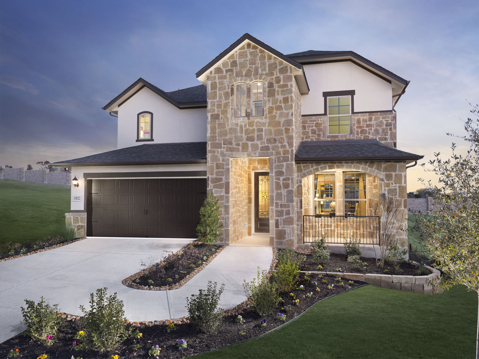 The Meadows at Steubing Farm Unit 2   50s. New Home Communities in San Antonio   Meritage Homes