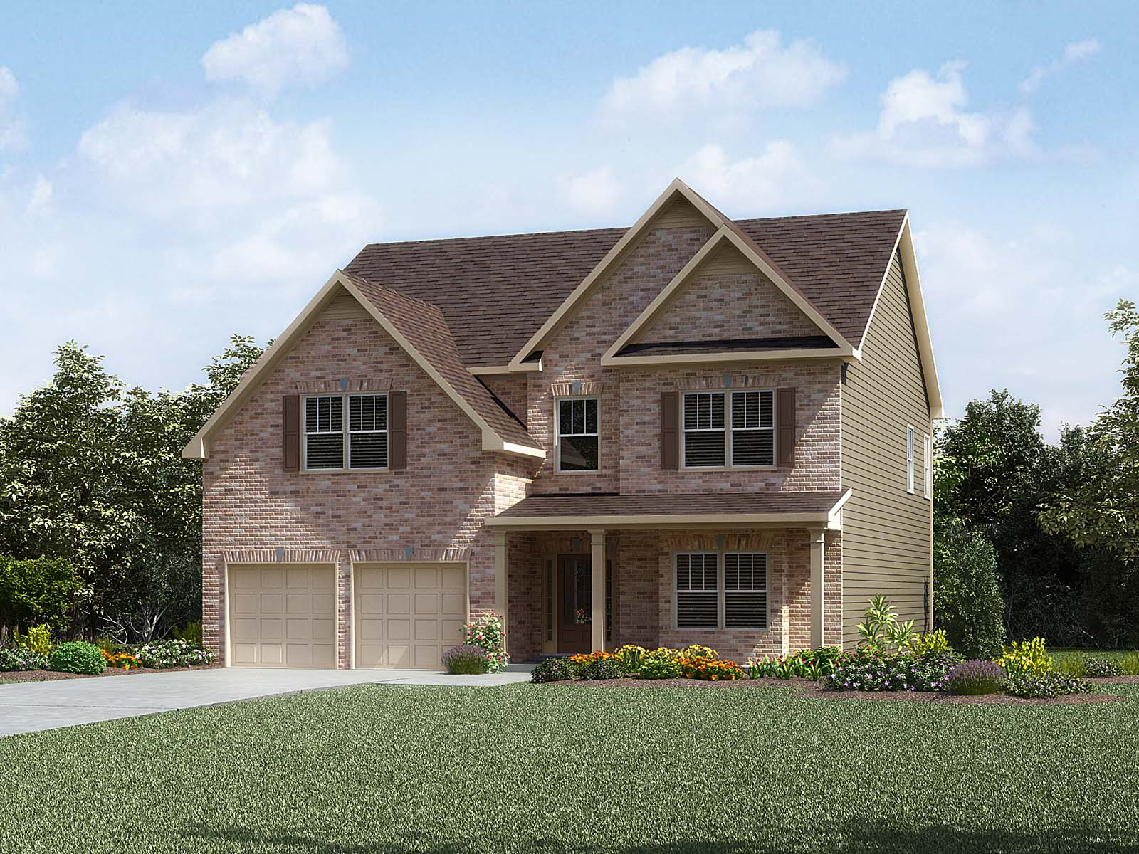 New homes in anderson sc meritage homes for Home builders anderson sc