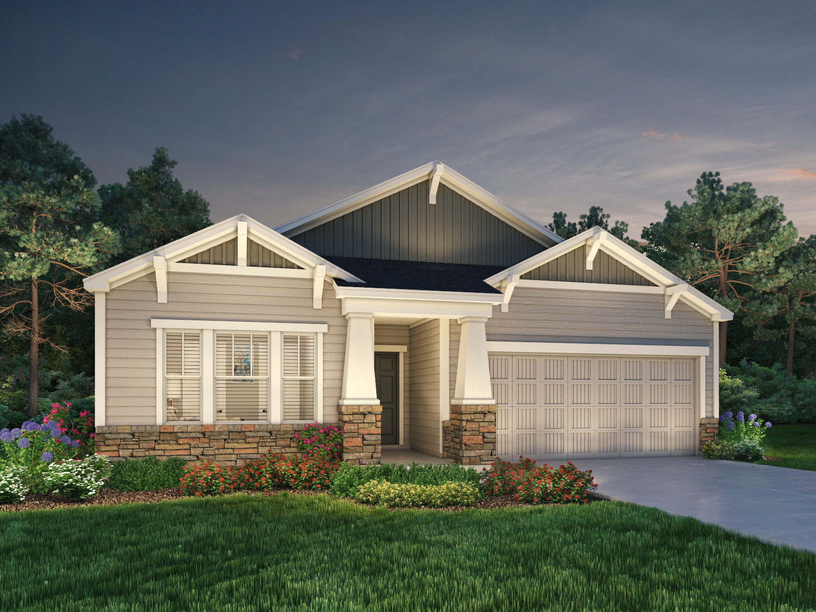 Manor At Abner Creek By Meritage Homes
