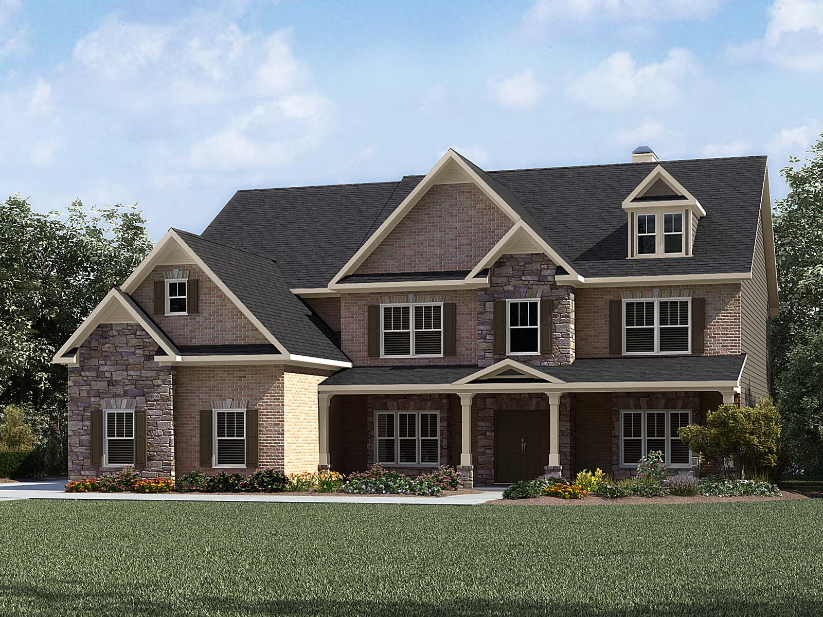 Chatsworth Model 5br 5ba Homes For Sale In Greer Sc