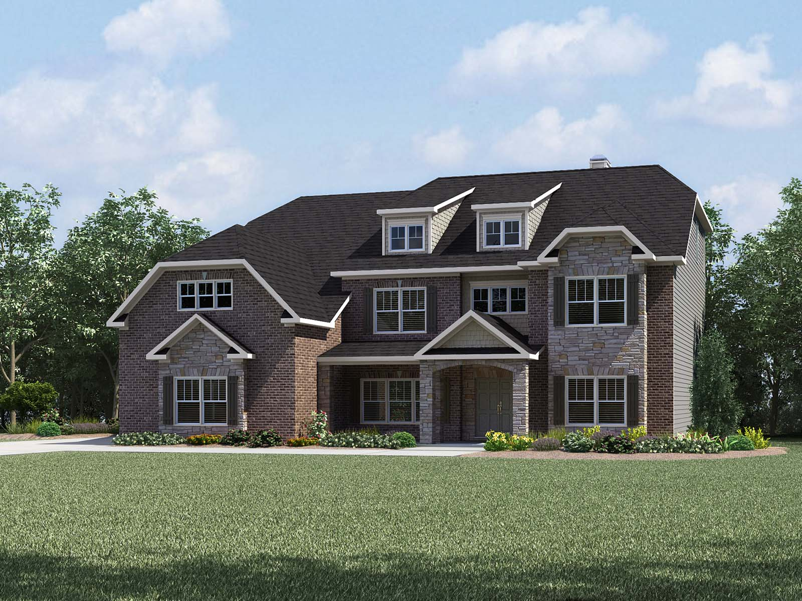 Stonewood Manor By Meritage Homes New