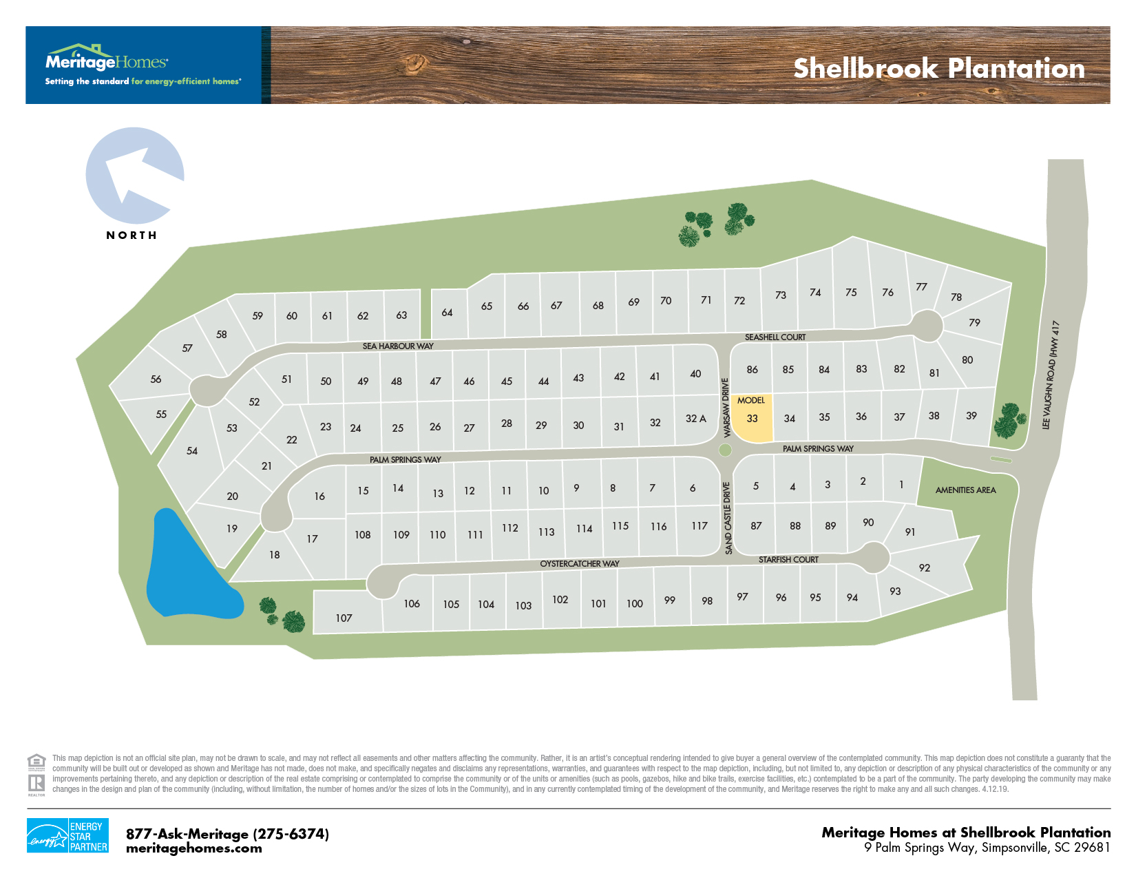 Shellbrook Plantation site map 52819